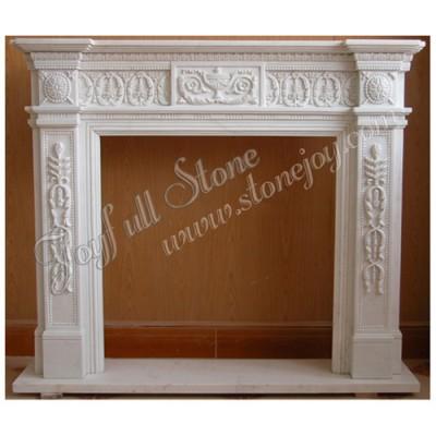 FG-322, Europe Decorative stone Fireplace Mantel Surround