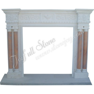 FC-236, Marble Fireplace Mantels Surrounds