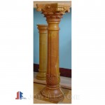 DC-109, Yellow Marble Decorative Columns