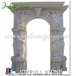 DW-119, Carved marble entrance doors