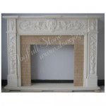 FG-402, European Antique Mantel