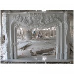 FG-151, Carving Stone Fireplace Mantels