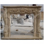 FG-152, Limestone Fireplace Mantel Shelves