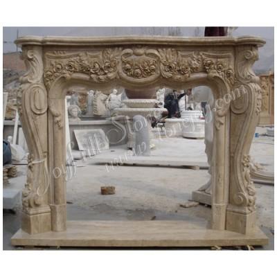 FG-152, Limestone Fireplace Mantel Shelves