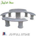 GT-053, Grey granite table set
