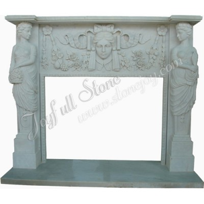 FS-040, Western Style Traditional Fireplace Sculptures