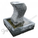 GFC-147-1,  S style granite pillar fountain