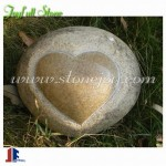 GQ-245, Boulder stone heart ornament