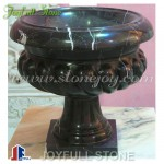 GP-135, Black Marble Planter pot