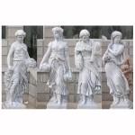 KLB-039, Garden Lady Figure Statues