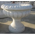 GP-203, Stone ornament planter on street