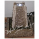 GFC-012, Granite material LED Water Fountain