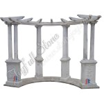 GN-507, Landscaping Marble Pergola For sale