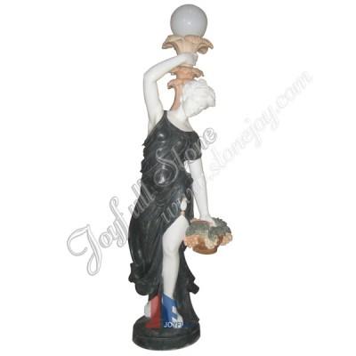 KLB-505, Antique Statue Figure Lamps