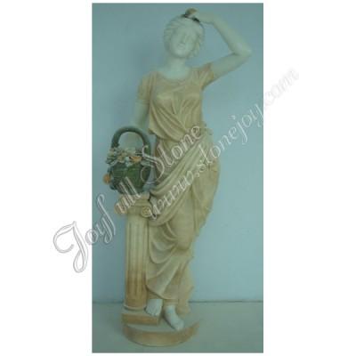 KLB-360, Stone Garden Woman Figure sculptures for sale