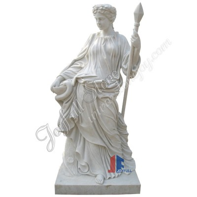 KLB-100, Carved Classic White Marble Famous Sculpture