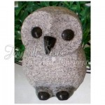 KE-412. Mini size granite owls
