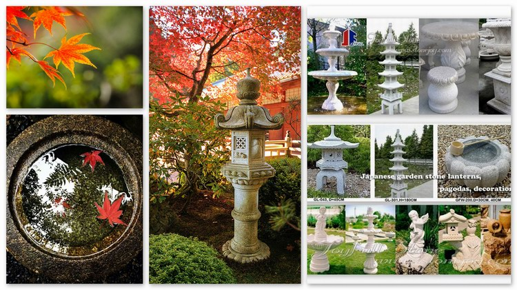 Autumn of japanese garden joyfull stone add serenity into your garden old stone water basin workwithnaturefo